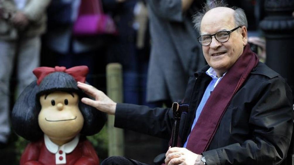 El dibujante y humorísta gráfico, conocido mundialmente por su personaje Mafalda, falleció ayer a los 88 años