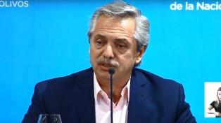 """Fernández, sobre la deuda: """"El bienestar de los argentinos es una prioridad innegociable"""""""