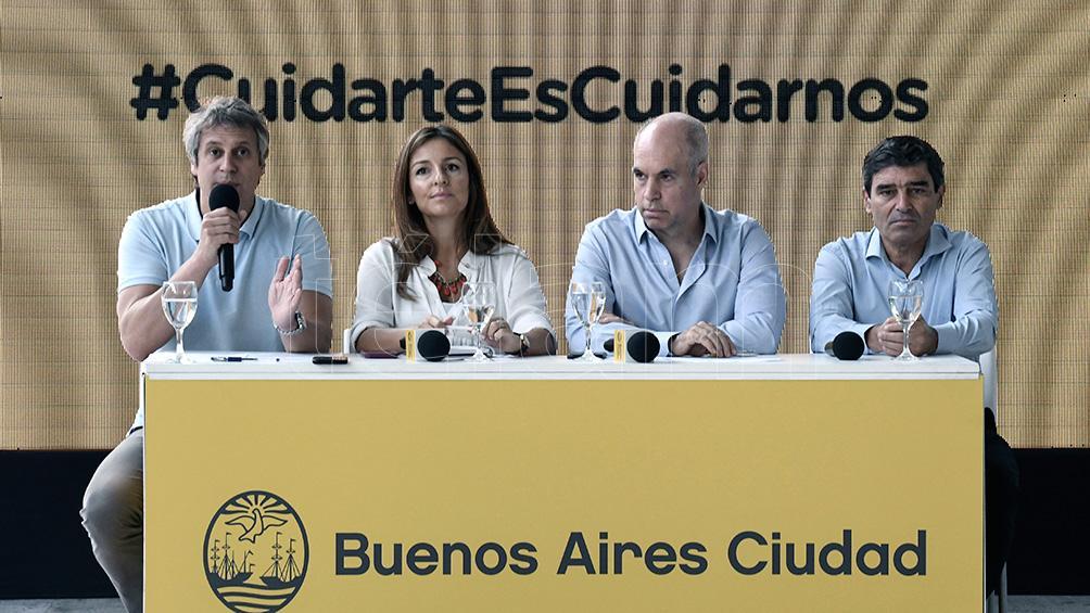 Anuncian nuevas medidas en la Ciudad de Buenos Aires para afrontar la pandemia