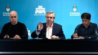 PANDEMIA – Fernández: «No van a quebrarme, voy a seguir trabajando con dirigentes opositores»