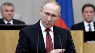 Putin dice que el pico de la pandemia ya pasó en Rusia, pese al récord de muertes