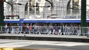 Las líneas ferroviarias Sarmiento, San Martín, Roca y Mitre modifican sus servicios