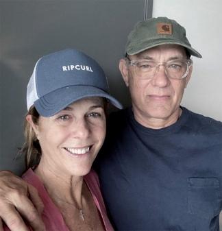 El actor y su esposa revelaron el pasado 11 de marzo que padecían  coronavirus.