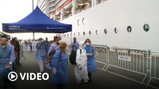 Crucero de Brasil: no hubo personas con síntomas compatibles con el coronavirus