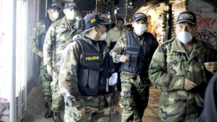 Suman personal del Ejército al control en el límite fronterizo entre La Quiaca y Villazón