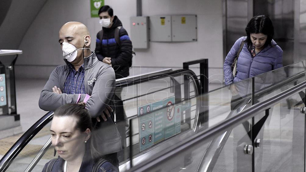 Tras un caso sospechoso de coronavirus, la Línea B funciona con personal jerárquico