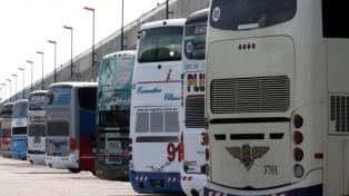Suspenden los servicios de transporte automotor interurbano