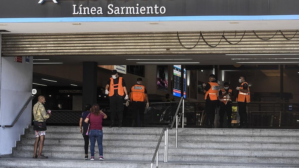 Controles en la Línea Sarmiento