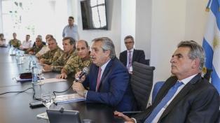 El Presidente auditó el apoyo y asistencia de las Fuerzas Armadas a la comunidad