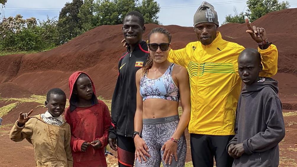 La atleta marplatense Belén Casetta se entrena aislada en Kenia con estrictas medidas