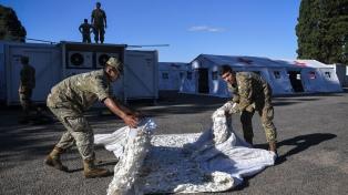 El Hospital Militar Reubicable del Ejército podrá atender a más de 100 pacientes