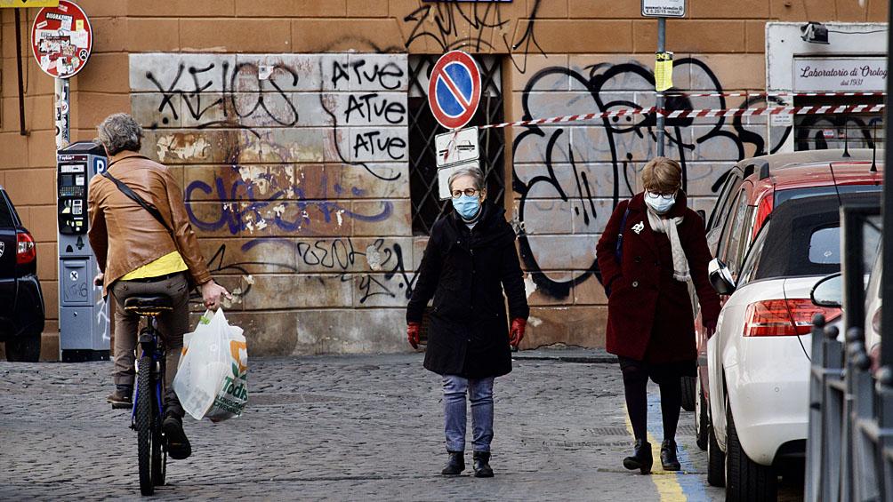 Italia volvió a registrar una suba en la cantidad de víctimas