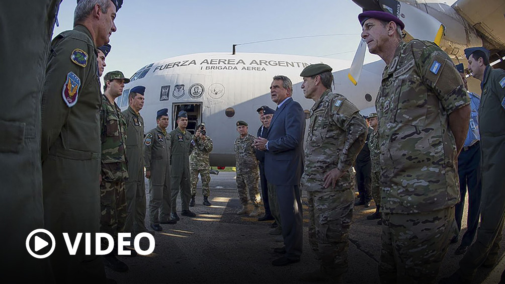 Los dos aviones Hércules que traen a 140 argentinos desde Perú arribarán entre las 20 y las 21