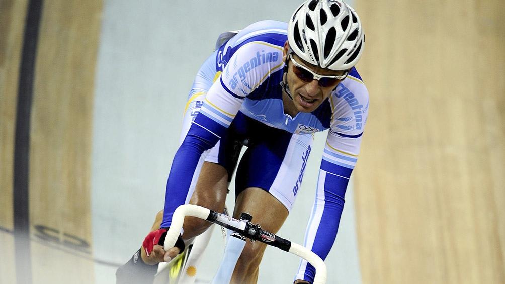Juan Curuchet fue oro en Beijing 2008.