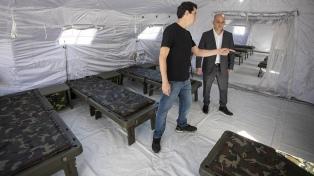 ¿Cómo es el Hospital Militar Reubicable que instalaron en Campo de Mayo?