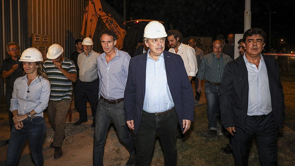 Fernández recorrió el Hospital Favaloro reactivado para atención ...