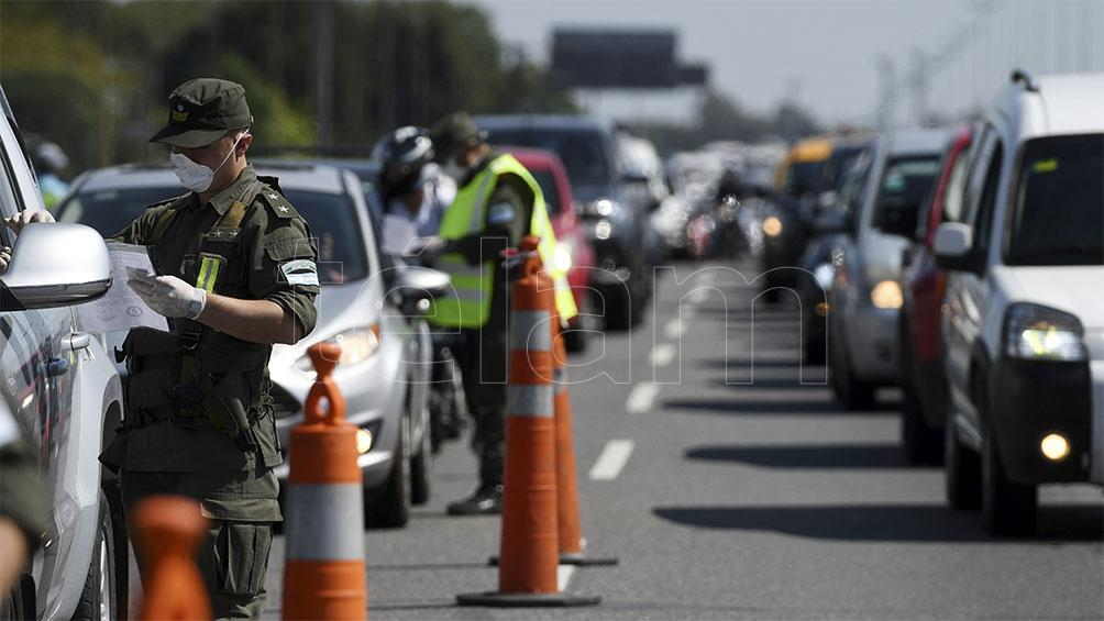 Intensificaron los controles en los accesos y egresos de la Ciudad de Buenos Aires