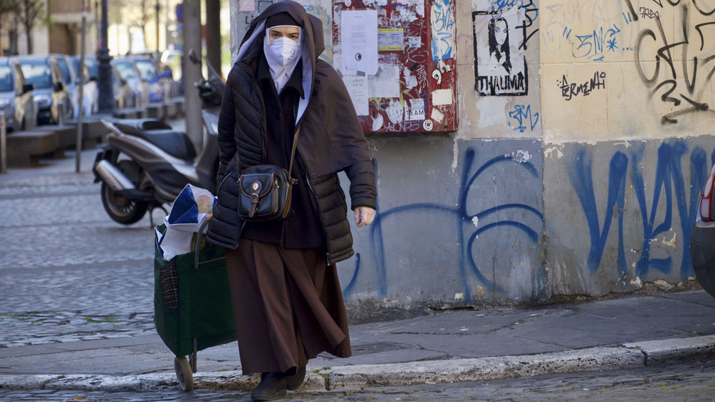 Italia: extienden el aislamiento hasta el 13 de abril