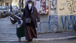 Italia cortó una racha de cuatro días con bajas y volvieron a subir los contagios