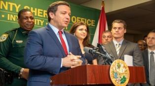 Tras la polémica por el Covid-19, el gobernador de Florida originó un nuevo escándalo