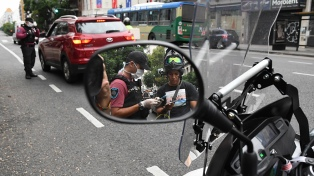 Casi 5.000 detenidos o demorados por incumplir el aislamiento en la ciudad de Buenos Aires