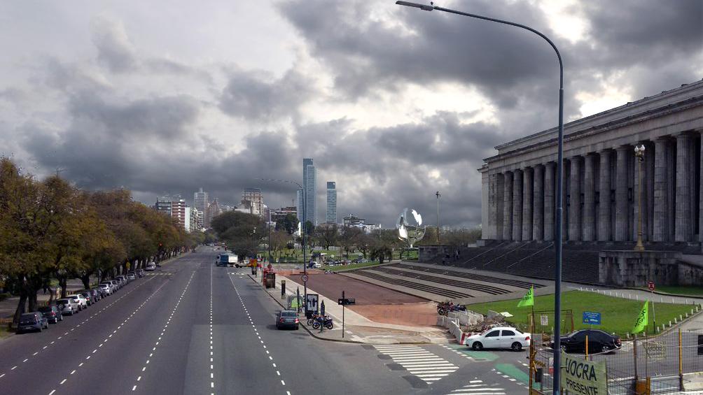 Miércoles inestable con una máxima de 25 grados en la ciudad de Buenos Aires y alrededores