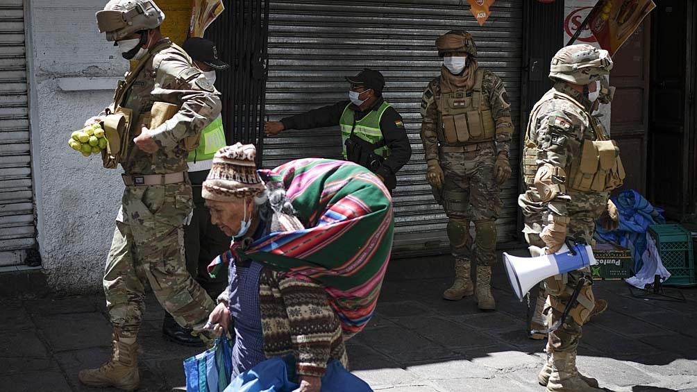 Se reportaron en Bolivia 158.372 casos de infectados