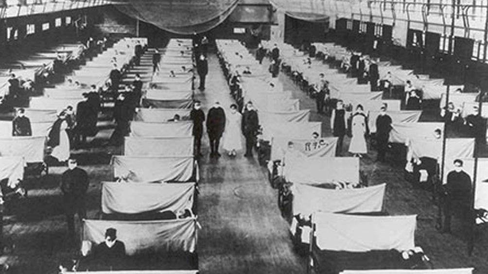 Hace poco más de un siglo, la gripe española mató entre 50 y 100 millones de personas.