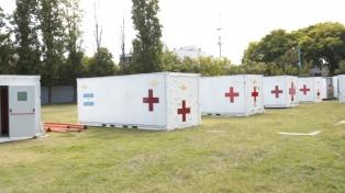 Cómo es el Hospital Militar Reubicable de la Fuerza Aérea en Pompeya