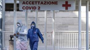 """Italia informó 756 nuevas víctimas y ve que en """"máximo diez días"""" bajaran las muertes"""
