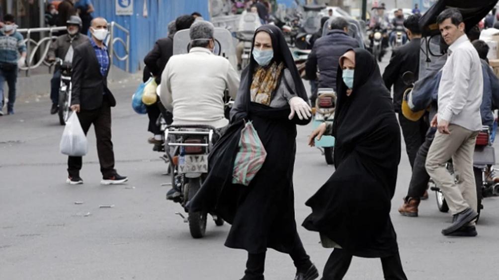 En Irán, el ministerio de Salud anunció hoy más de 2.600 enfermos