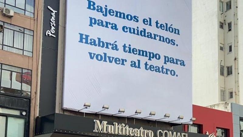 En la ciudad de Buenos Aires aún no se logró el protocolo para la vuelta del teatro