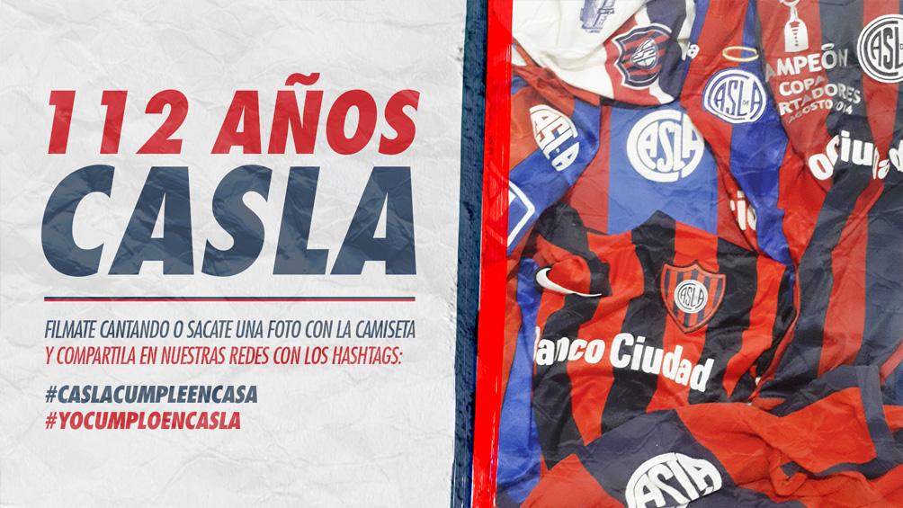 San Lorenzo organiza un festejo virtual por los 112 años del club