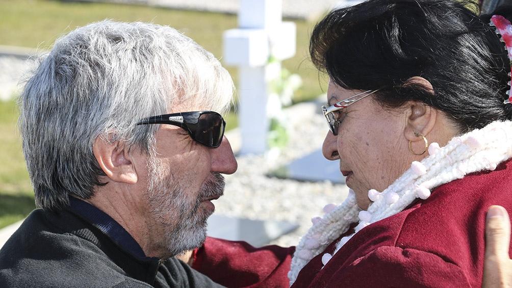 """""""El mejor premio Nobel ya lo hemos recibido, y es ese beso y ese abrazo de esa madre que acaba de recuperar a su hijo"""""""