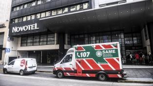 Menos del 2% de los viajeros alojados en hoteles por la pandemia dieron positivo de coronavirus