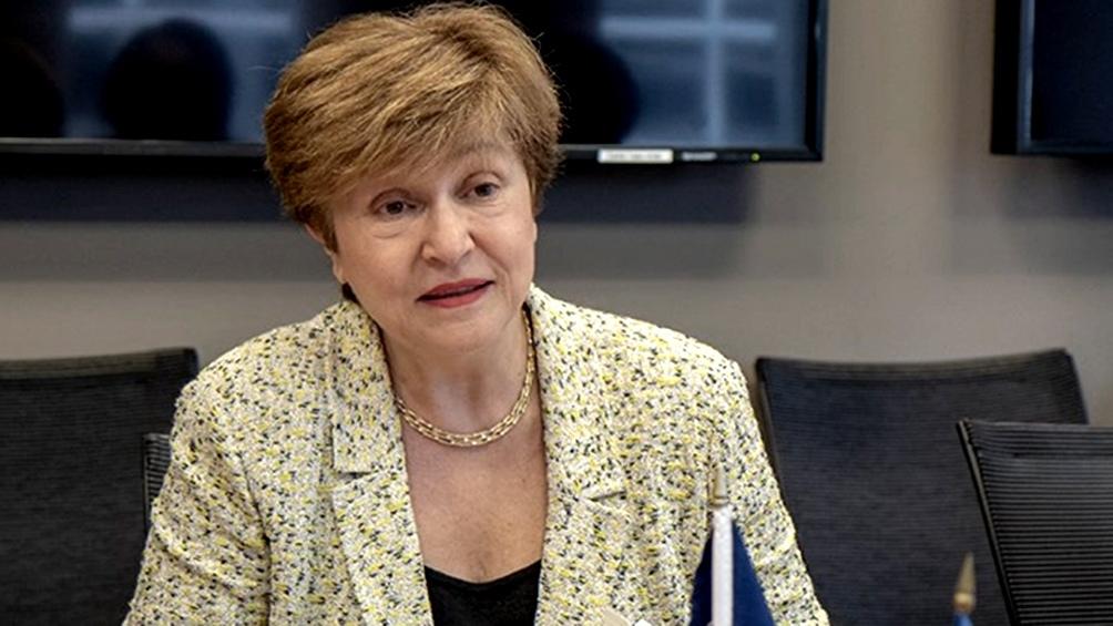 La declaración de Georgieva coincide con la llegada al país de un equipo técnico del organismo para negociar un nuevo programa.