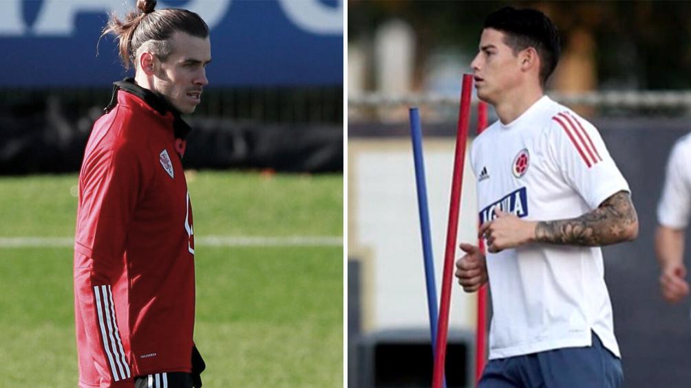 Real Madrid se desprenderá de James Rodríguez y Gareth Bale
