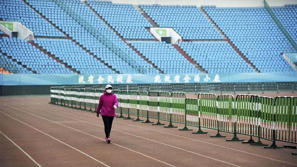 China anunció que todavía no reanudará eventos deportivos