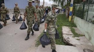 El Ejército creó el Batallón 2 de Abril para prestar asistencia a temas relacionados a la pandemia