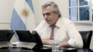 """Alberto Fernández: """"Hoy, como cada 2 de abril, reivindicamos nuestra soberanía"""""""