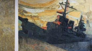 AMIA donó al Museo Malvinas un mural en homenaje a los caídos