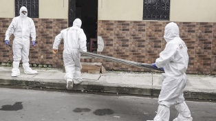 Cerca del 43% de los infectados en Ecuador son trabajadores de la salud