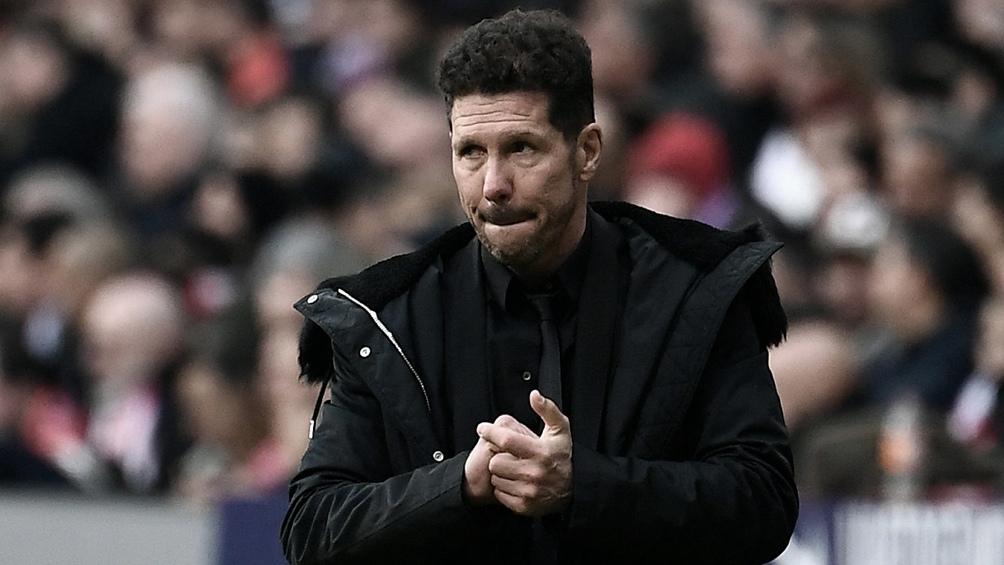 Simeone valoró a su rival, los alemanes del Leipzig, que continuarán en la Champions League (foto archivo)