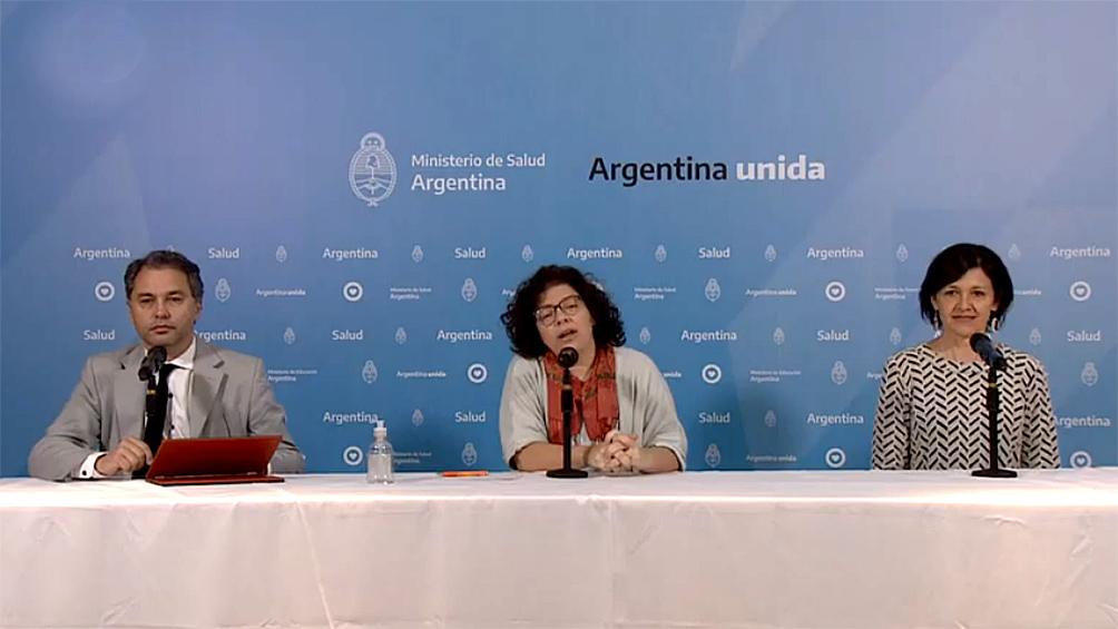 Hay 38 muertos y 1.265 personas contagiadas en la Argentina