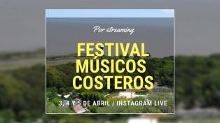 Músicos del partido de La Costa realizarán un festival vía streaming