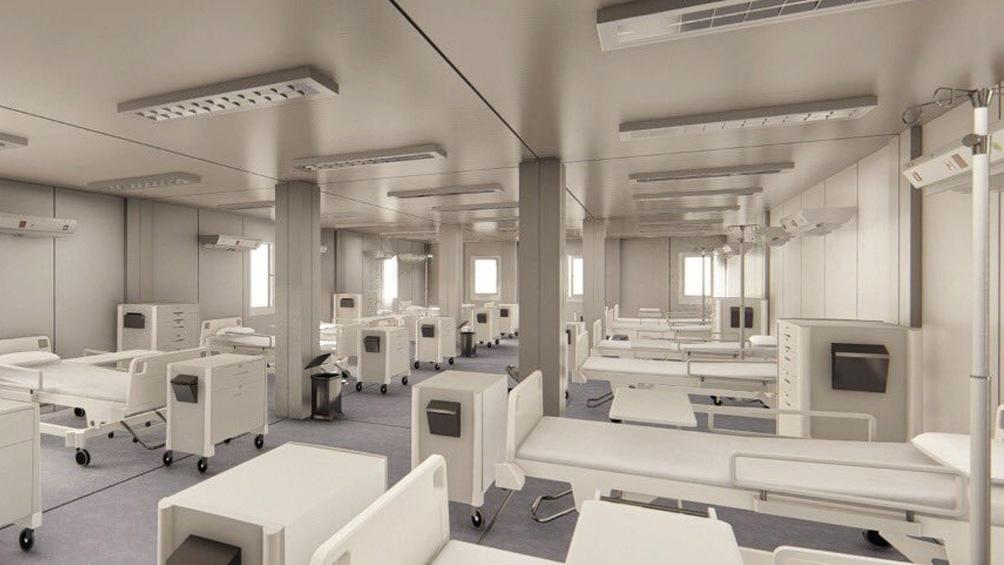 Doce hospitales modulares están terminados y proyectan 22 unidades ...