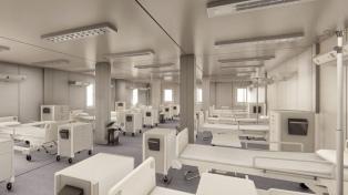 En 20 días se construyeron 12 Hospitales Modulares para hacer frente a la pandemia
