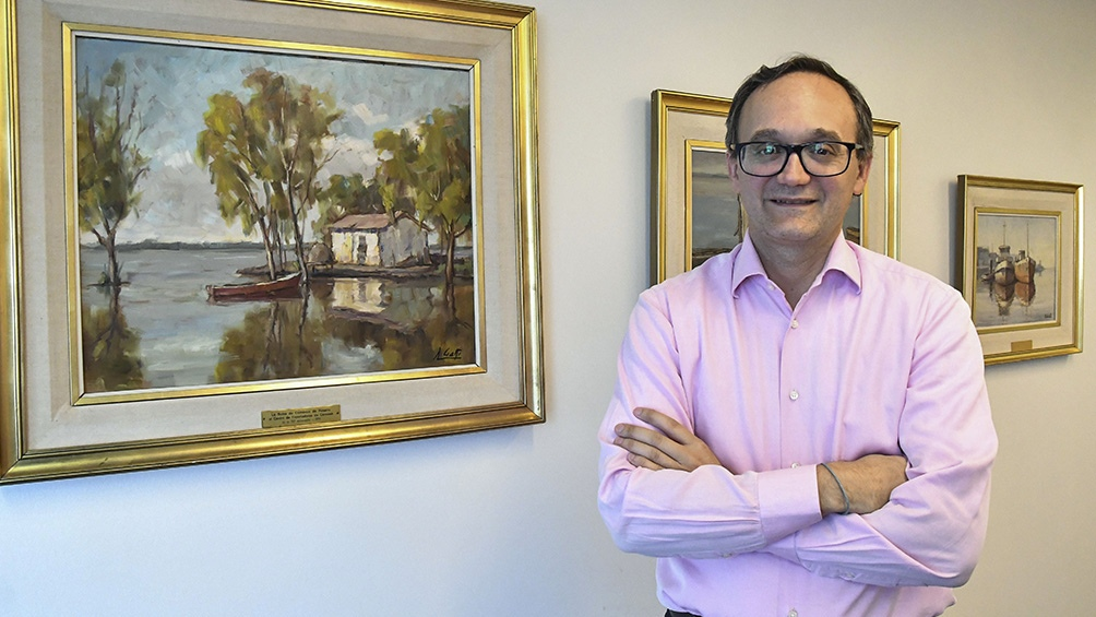 Gustavo Idígoras es el presidente de la Cámara de la Industria Aceitera y del Centro de Exportadores de Cereales.