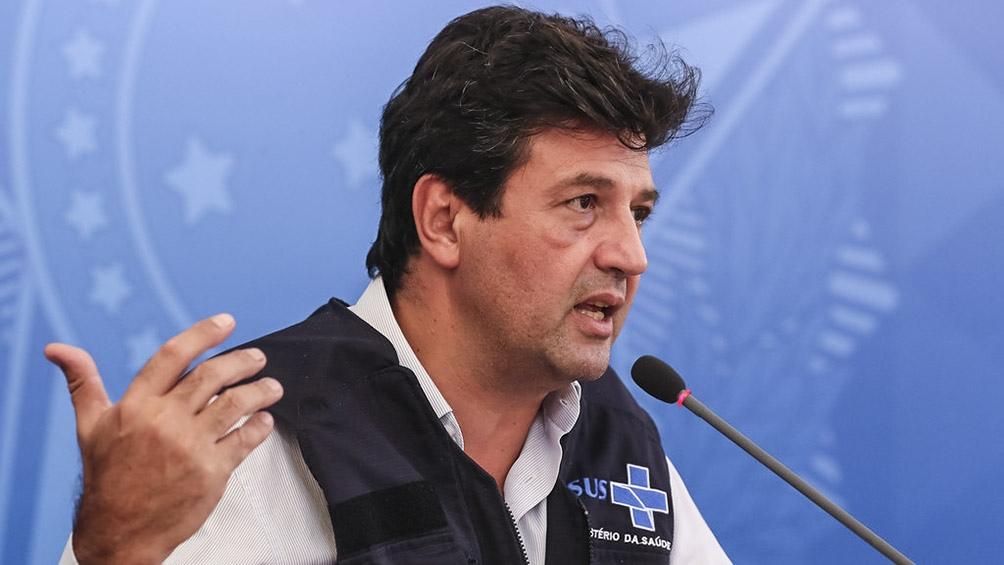 Luiz Mandetta denunció a Bolsonaro ante el Senado