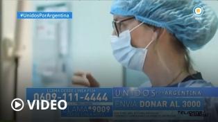 """""""Unidos por Argentina"""", un programa solidario que une a todos los canales"""